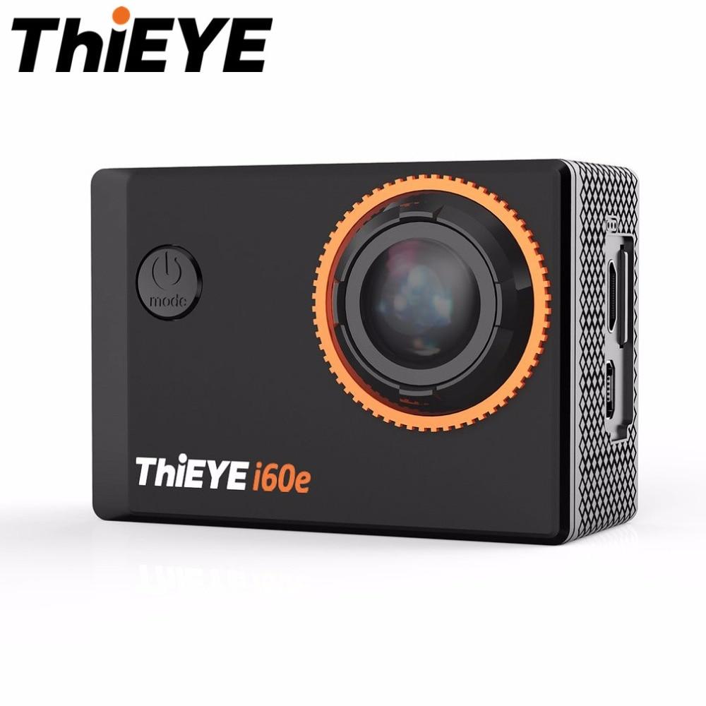 ThiEYE i60e 40M Waterproof WIFI 4K Zoom Full HD 1080P Action Camera 12MP 170 Degree Super Wide Angle 2.0 Inch Sport Camera thieye t5e wifi 4k action camera black