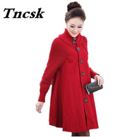 2017 Sale Casacos Femininos Outwear Coat Abrigos Mujer Autumn And Winter Cloak Outerwear Women Wool Coat