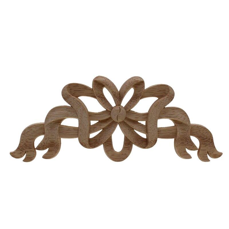 RUNBAZEF bois massif décoration de la Maison accessoires meubles Applique en bois Figurines Miniatures Resine décor Maison ornements
