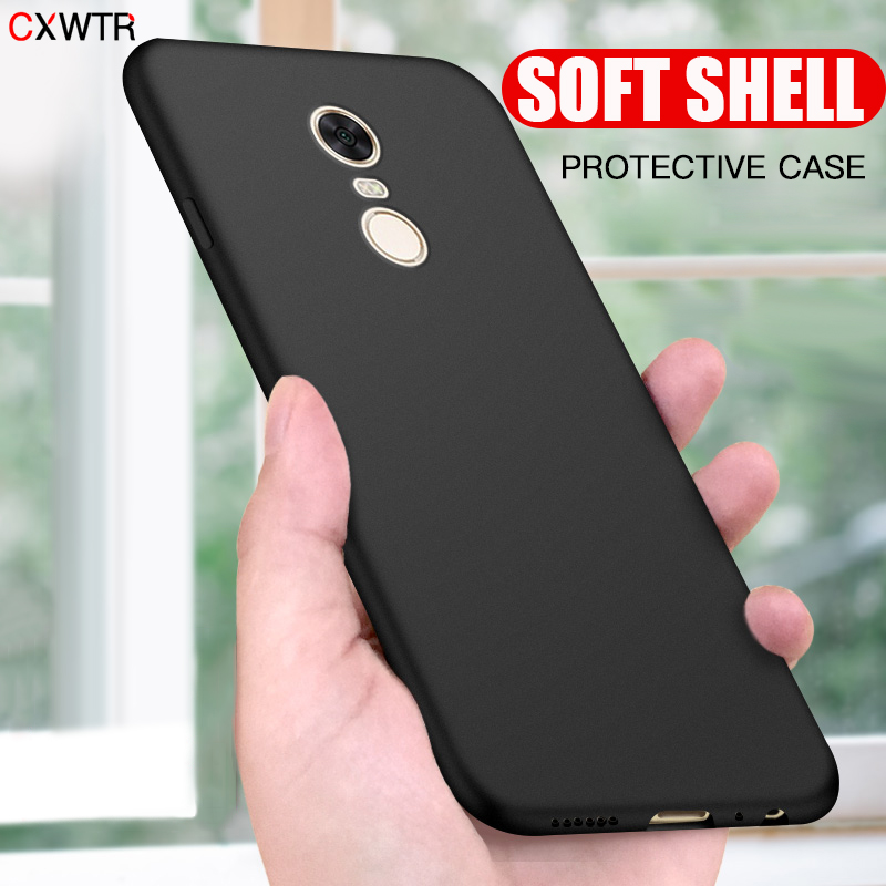 Luxury Matte Soft Silicone Case For <font><b>Xiaomi</b></font> <font><b>Redmi</b></font> <font><b>Note</b></font> <font><b>7</b></font> 6 <font><b>Pro</b></font> Cover Case For <font><b>Redmi</b></font> <font><b>Note</b></font> 4X <font><b>Note</b></font> 4 <font><b>Global</b></font> <font><b>Version</b></font> Phone Case image