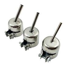 Hot Air Gun Nozzle 45 Degree Tilt BGA Nozzle Welding Accessories For YIHUA SAIKE LUKEY 850 852D+ 850/852 Series
