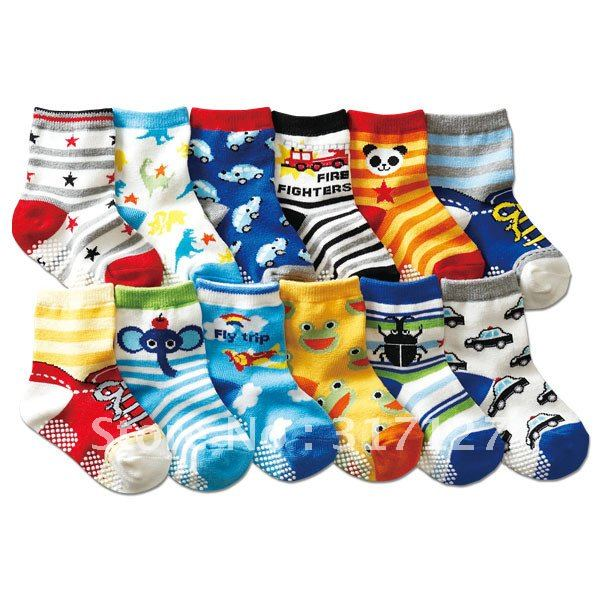 FREE SHIPPING CHINA WHOLESALE!BABY BOYS COTTON CUTE SOCKS,1-3YEARS CHILDRENS ANTI-SKIDDING SOCKS,20PAIRS PER LOT,CHILDREN SOCKS
