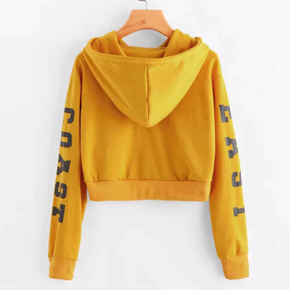 KANCOOLD Top Sweatshirts Women Letters Long Sleeve Hoodie Sweatshirt Pullover Tops Causal high quality sweatshirt women 18DEC6 19