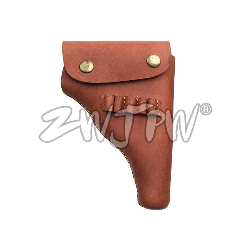WW2 WWII CHINESE ARMY BROWNING GUN HOLSTER LEATHER GUN HOLSTER REPLICA CN/103126(China)