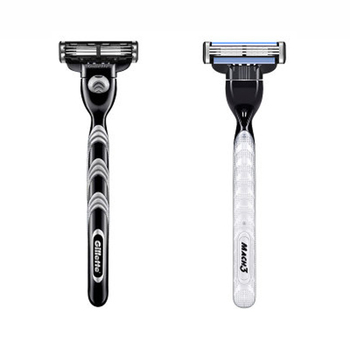 Original Genuine Gillette Mach 3 Shaving Razor Blades For Men Brand 3 Layer New Packaging Manual Shaver Razor Blade 4