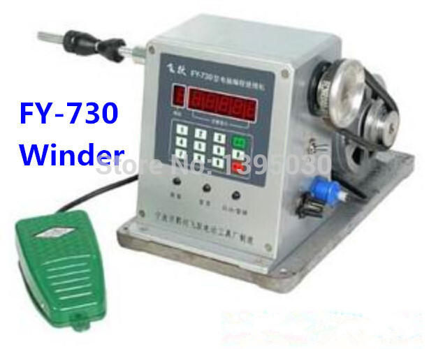 FY-730 CNC Electronic Winding Machine Coil Wire Winder Winding Diameter 0.03 -1.80mm micro computer cnc automatic coil winding machine coil wire winder ds 200a