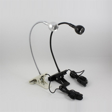 Book Reader Mini Flexible Bright Desk For Kindle Delicate Mini USB Clip LED Light Clip-On Ebook Reading Lamp Book Light