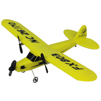 New FX 803 RC Plane 2.4GHz 2 Channel EPP 2CH radio glider airplane model Fixed wing Aircraft Front pull Dual Propeller RTF toys