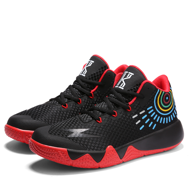 Sufei Men Basketball Shoes High Ankle Mesh Breathable Light Boots Kids Outdoor Sport Trainers Sneakers ai men basketball shoes pu sneakers mesh breathable sport shoes for men professional basketball shoes zapatillas de basquet