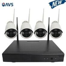 Surveillance Wireless IP CCTV Camera Kits with 720P 1.0MP