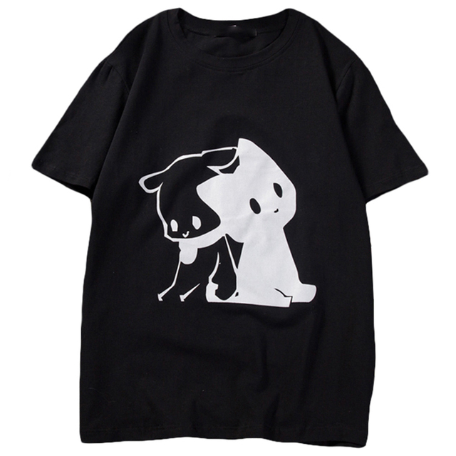 dd3492774fc9e Fitness Summer Tshirt Men Cotten Funny Puppy Print Harajuku Summer Top 2018  New Fashion Brand Clothing Men Shirt Tops 50T0093