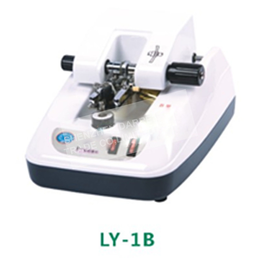 1PC LY-1B lens glasses processing equipment automatic clip slot wire drawing machine stainless panel