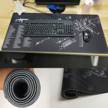 MaiYaCa TAC2 Gun parts Teams 400x900x2mm Breach Anti-slip Mouse Pad Gamer Large Professional Gaming Mousepad Grande Keyboard
