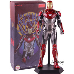 EEN: 6 Crazy Toys Iron Man Mark XLVII Mark 47 1/6 E Schaal Collectible Figuur Action Model Speelgoed
