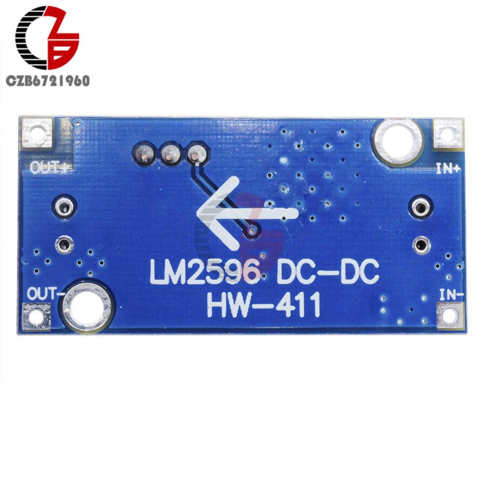 DC-DC abaisseur Buck convertisseur Module LM2596 3.2 V-40 V à 1.25 V-35 V régulateur de tension de puissance réglable transformateur abaisseur
