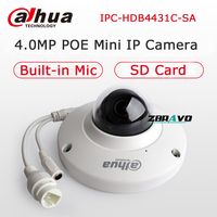 Dahua IPC HDB4431C SA Mini Dome CCTV Camera 4MP POE IP Camera IP67 Waterproof IK10 Vandalproof