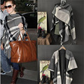Grey Plaid Scarf Viscose Big Infinity Cotton Blanket Scarf Brand Capes Wraps Pashmina Tippet Scarf Winter Shawls