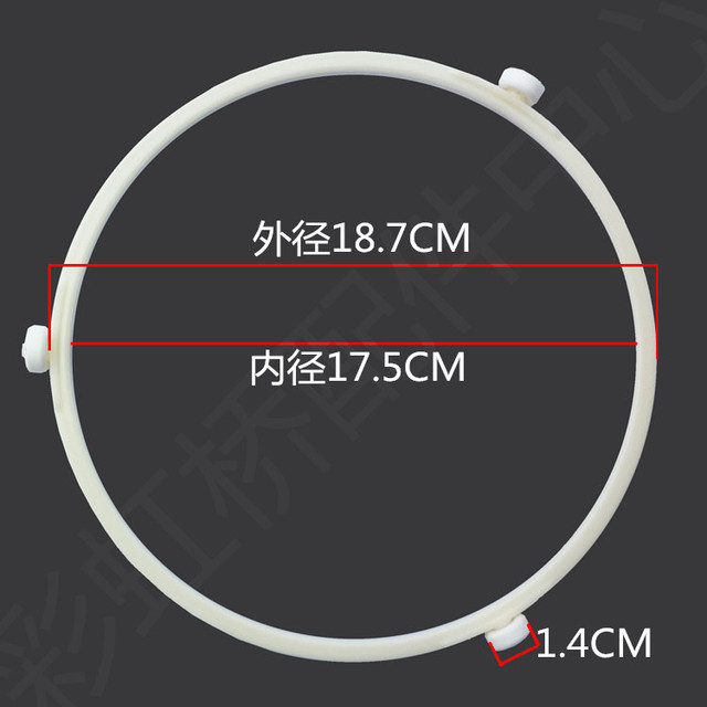 Microwave Oven Parts Supporting Rollers Stent Circle Diameter For Galanz Shaped Rotating Tray