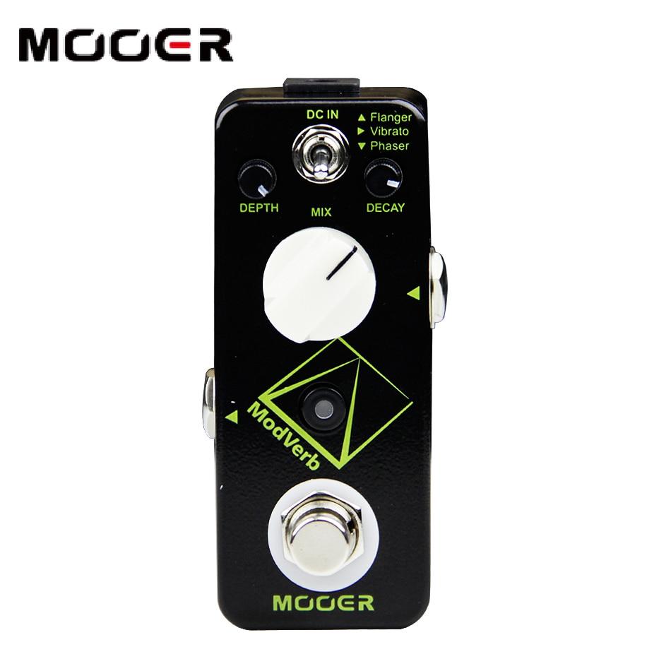Mooer modverb modulation reverb pedal micro series pedalMooer modverb modulation reverb pedal micro series pedal