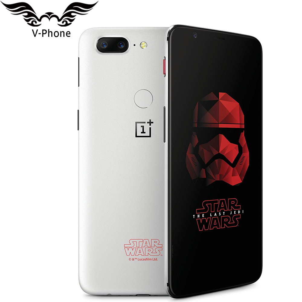 "OnePlus 5T Star Wars Limited Edition Mobile Phone 8GB RAM 128GB ROM Octa Core 6.01"" Full Screen Fingerprint Android Smartphone"