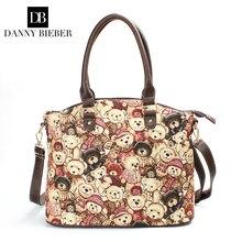 Danny Bieber Taschen Handtaschen Frauen berühmte Marken Umhängetasche Luxus Damen Geldbörse Tote Frauen Schulter Crossbody Taschen Aktentasche