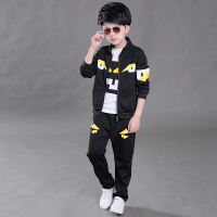 New Autumn Children S Clothing Sets Kids Boys Zipper Clothes Set Sport Suits Cartoon Girls Boys