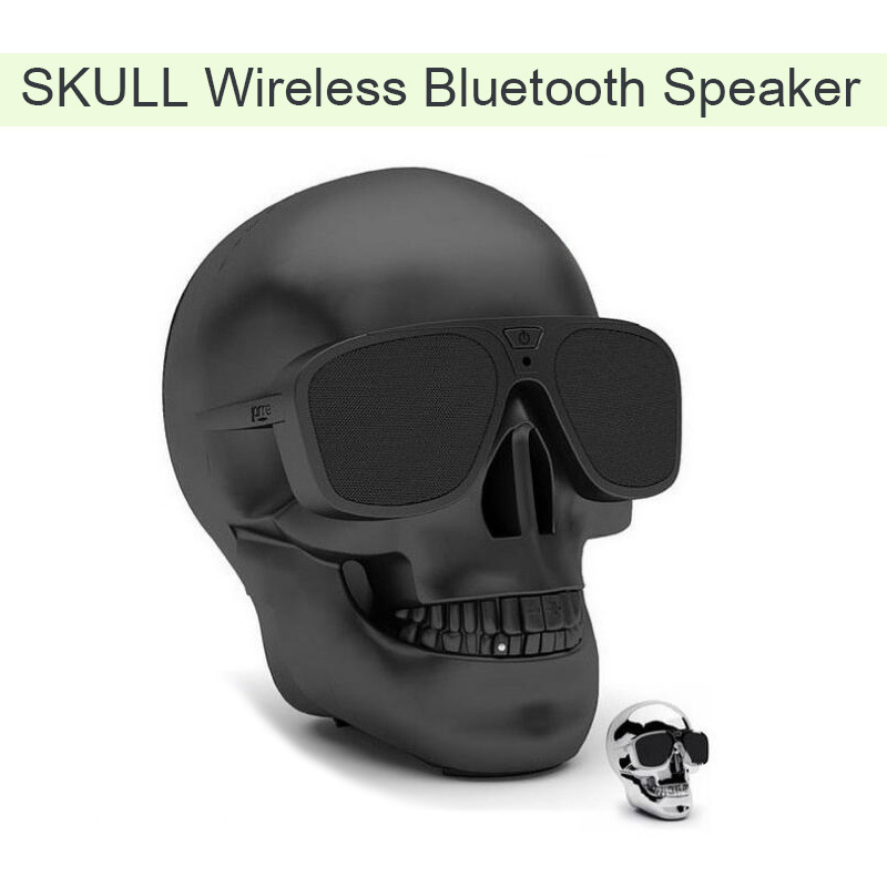 SKULL WIRELESS BLUETOOTH SPEAKER 1