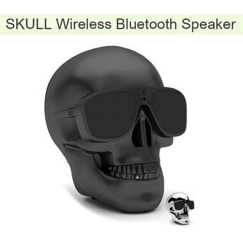 AeroSkull Bluetooth Speaker Wireless Sunglass Skull Shape Speaker Mobile Subwoofer Multipurpose Portable Speaker Cool