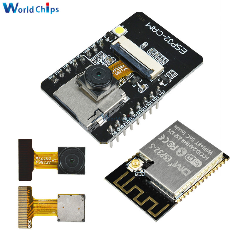 ESP32-CAM ESP32-S WIFI Bluetooth ES8266 ESP32S OV2640 2MP Wireless Camera Module With IPEX Socket Dual Core CPU MCU For Arduino