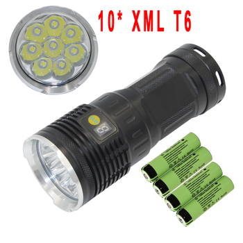 LED Flashlight 18650  XML T6 powerful 8000lm lamp torch light Waterproof camping lantern tactical Flashlight rechargeable sitemap 121 xml