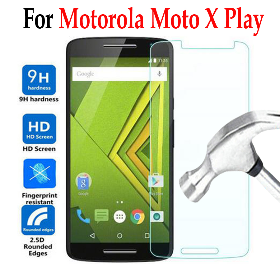 For <font><b>Moto</b></font> <font><b>x</b></font> <font><b>play</b></font> xplay Tempered Glass For <font><b>Motorola</b></font> <font><b>Moto</b></font> <font><b>X</b></font> <font><b>Play</b></font> <font><b>XT1562</b></font> XT1563 Phone Screen Protector Cover Protective Film <font><b>Case</b></font> image