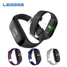 Lemdioe H3 Смарт Браслет жизни Водонепроницаемый монитор сердечного ритма Bluetooth Smart Браслет для iOS Samsung Xiaomi Huawei