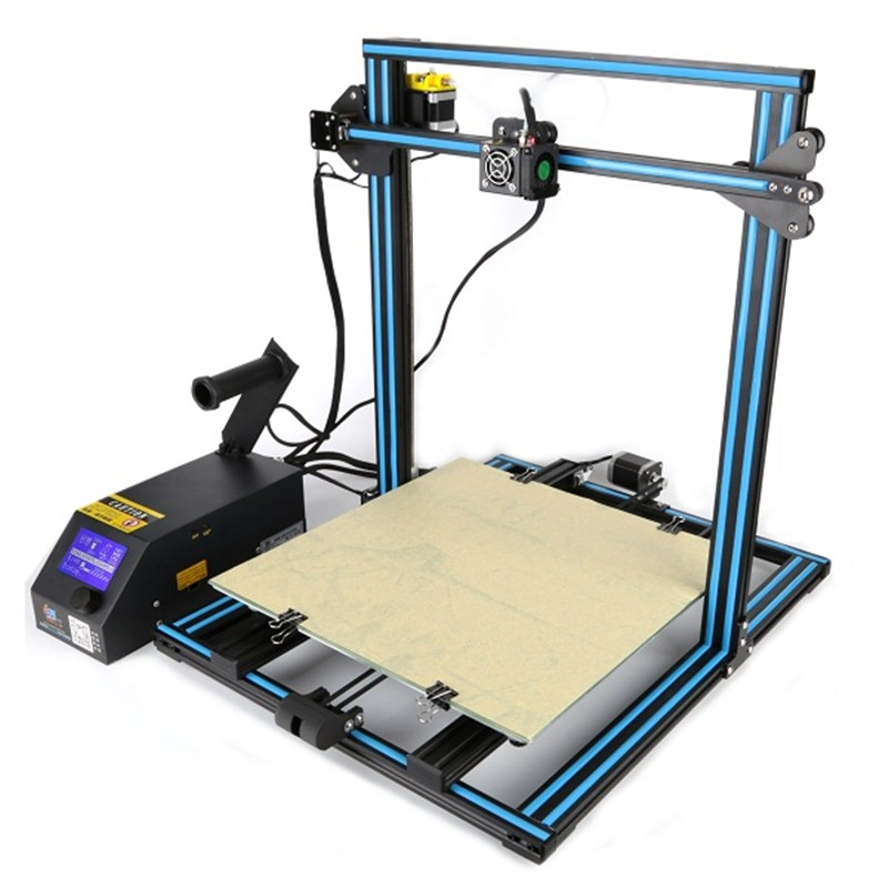 Wholesale Price CR-10 Customized 400*400*400mm Printing Size DIY 3D Printer Kit 1.75mm 0.4mm Nozzle With 2x 1KG PLA Filament аксессуары для ванной комнаты amico wn16