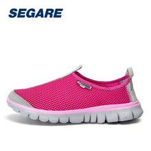 Womens Running ShoesSummer Mesh Sport Sneakers Breathable Slip On Shoes Women Comfortable Walking Shoe