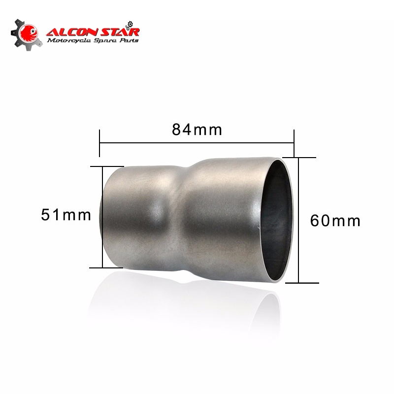 Alconstar 60mm change to 51mm Motocross Motorcycle Exhaust Adapter Exhaust Pipe Yoshimura Muffler Adapter TMAX CB400 CB600 Z800-in Exhaust u0026 Exhaust Systems ...  sc 1 st  AliExpress.com : exhaust adapter pipe - www.happyfamilyinstitute.com