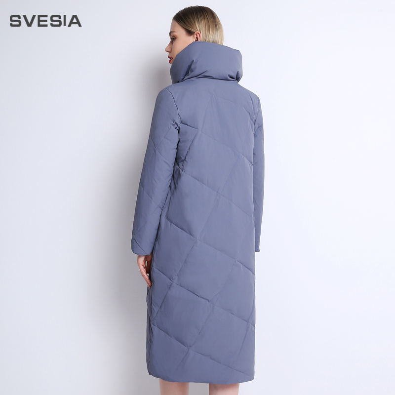 38684ca63c6 Para Svesia Pato De 6uxwaa Invierno 2018 Mujer Plumón Abrigo Chaqueta XqPUd