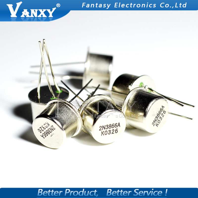 5PCS 2N3866A TO-39 2N3866 3866A TO39 High Frequency Transistor