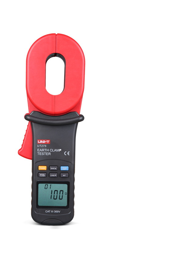 New Brand UNI T UT275 Data Recall Clamp Earth Ground Resistance Testers 30 Data Logging Auto Calibration Function Fast Shipping