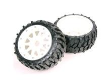 1/5 rc car racing parts,Baja 5B Stone tyres and nylon wheels – Front x 2pcs free shipping