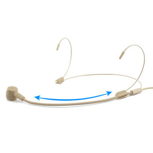 Image 2 - Professional Headworn 3.5mm Headset Wired Microphone Anti Interference Clear Sensitive UHF High Fidelity