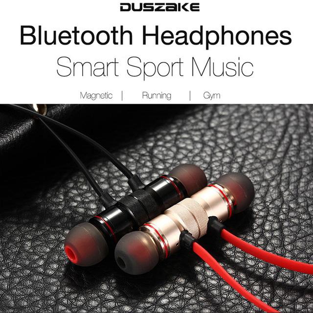 DUSZAKE Sports Wireless Bluetooth Earphone For Phone Wireless Headphone Sport Headset Bluetooth Headphones For Mobile Phone
