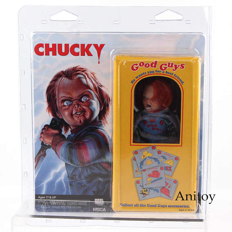 Hot Toys NECA Goeden Childs Play Chucky PVC Action Figure Collectible Model Toy 11 cm