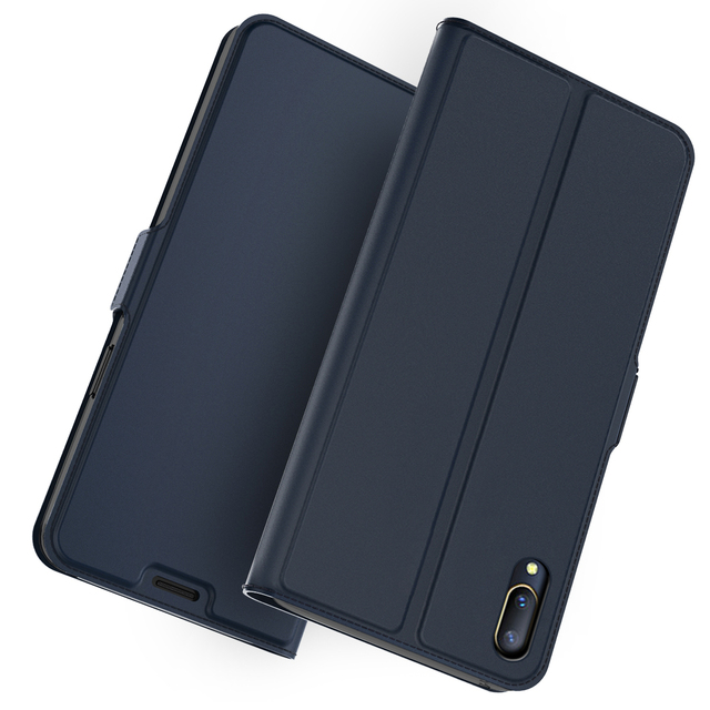 the best attitude 7a815 9ee59 US $4.59 39% OFF|For Vivo V11 Pro/Vivo NEX S/NEX A Phone Case PU Leather  Flip Stand Wallet Case For Vivo Y83/Z1/Y93/Y53/Y97/X23 Phone Cover-in Flip  ...