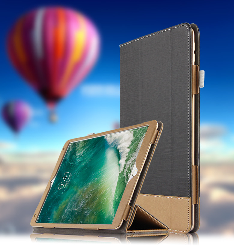 Case Cover For Apple Ipad Pro 10.5 New 2017 Protective Smart Cover Leather For Ipadpro10.5