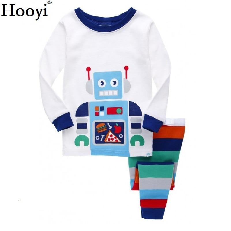 Hooyi Boy пижамы киімі Long Sleeve Pajama - Балалар киімі - фото 6