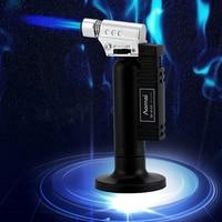 Горячие барбекю уличный фонарик Turbo жидкость для зажигалки Пистолет Jet газовая зажигалка для Кухня сигареты 1300 C огонь Ветрозащитный Зажига...
