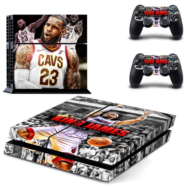 HOMEREALLY PS4 Stickers KING DOM HEARTS Cover Decal PS4 Skin Sticker For Sony Play Station 4 Console and Controller Skin         5