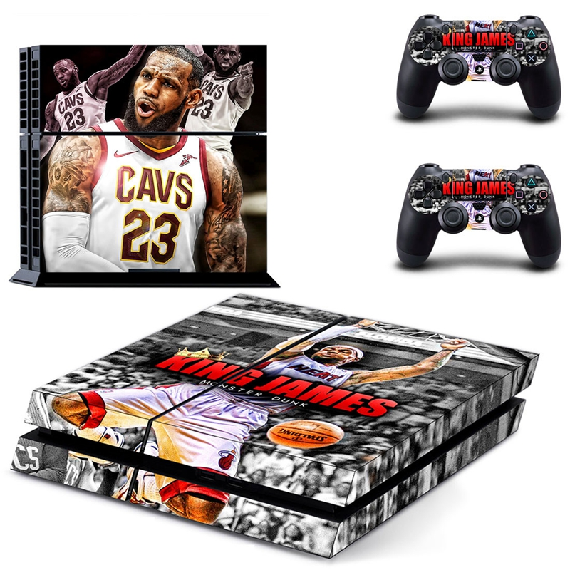 Image 5 - HOMEREALLY PS4 Stickers KING DOM HEARTS Cover Decal PS4 Skin Sticker For Sony Play Station 4 Console and Controller Skin-in Stickers from Consumer Electronics