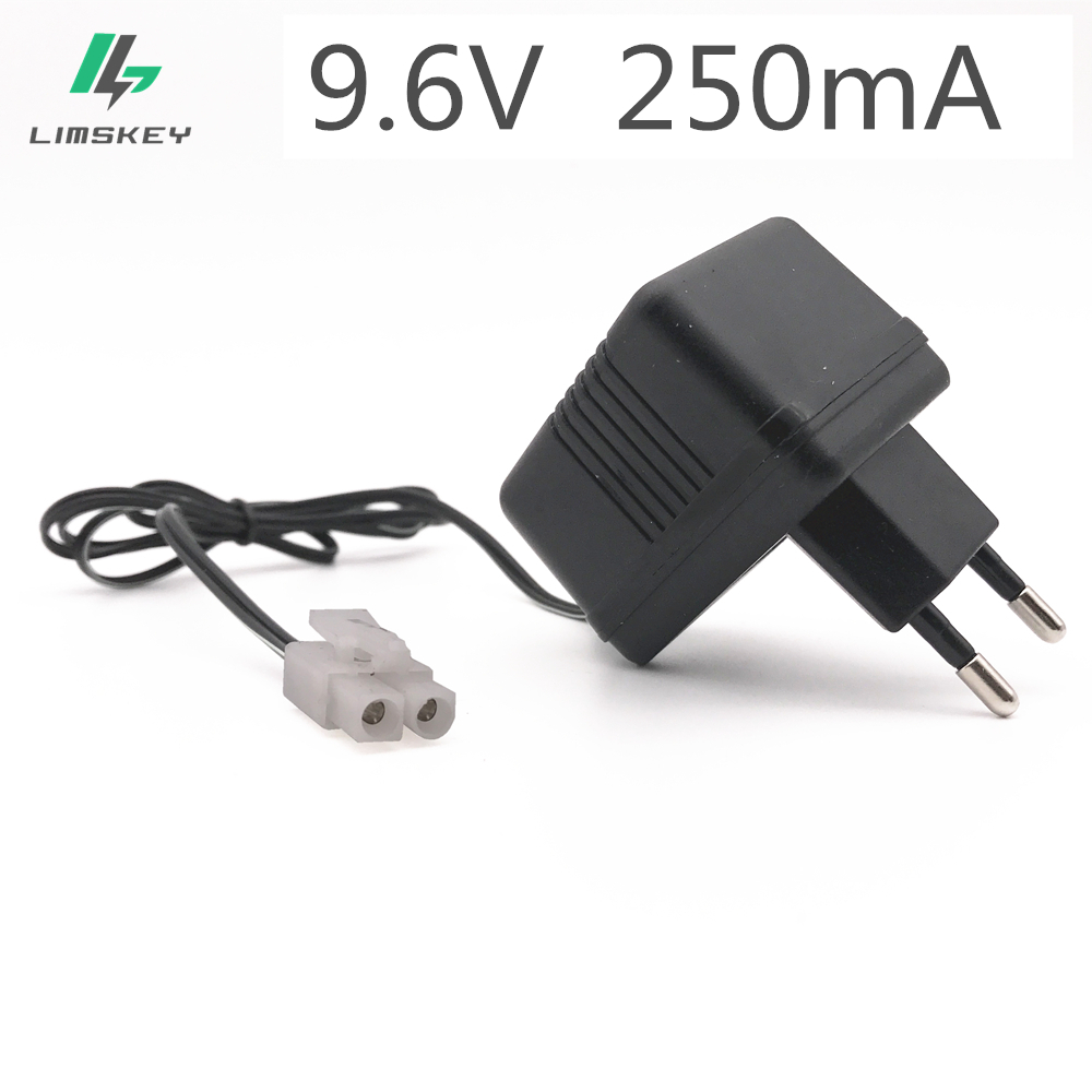 Charger For 9.6V Ni-Cd Ni-MH Battery Input AC 110V-240V Output 9.6V 250mA With Tamiya KET-2P Plug For RC Toy купить в Москве 2019