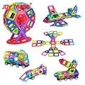 Joy Mags Магнитный конструктор  42/78/104 шт.  однотонные  цветные строительные блоки  строительные блоки  подарок на день рождения